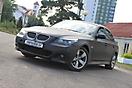 BMW 5 (E60) Black matte