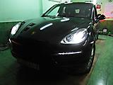 Антигравийная защита Porsche Cayenne II