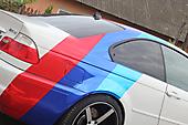Хром полосы в М-стиле BMW M3 e46