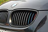 Оклейка оконных молдингов под ShadowLine BMW 5 E60