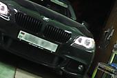 Оклейка оконных молдингов под ShadowLine BMW 5F10