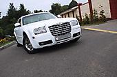 Оклейка в белый металлик (алмазная крошка) Chrysler 300C