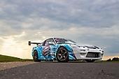 Оклейка Nissan 240SX - гонщика Дмитрия Нагулы.