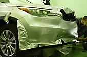 Okleyka Toyota Highlander v serebristiy metallic_16