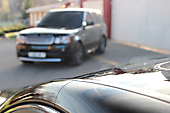 Antigraviynaya okleyka Lexus LS460 F-sport_1
