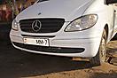 Оклейка белым Карбоном (Carbon 3D) бамперов Mercedes Vito