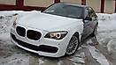 Оклейка в Белый матовый цвет BMW 7 (F01) x-drive