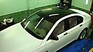 Оклейка в Белый матовый цвет BMW 7 (F01) x-drive_8