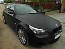Черный матовый BMW M5 (E60)